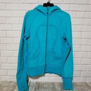 Lululemon Scuba Hoodie Jacket Blue Size 6